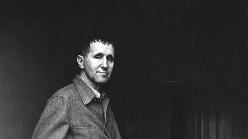 Bertold Brecht refused to meet Benjamin at first but later became part of Brecht circle in Berlin and their time in exile.