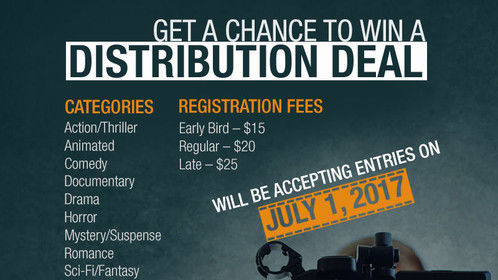 Filmmakers! Get a chance at a distribution deal.