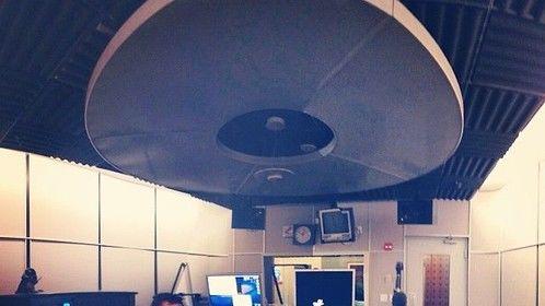 Working in the new studio!
