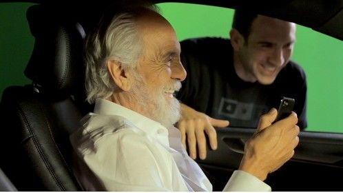 Directing Tommy Chong
