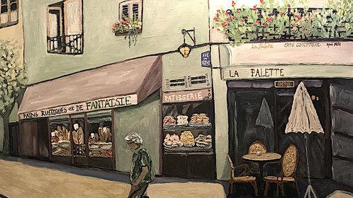'Parisian Corner' - deborah eve alastra '17