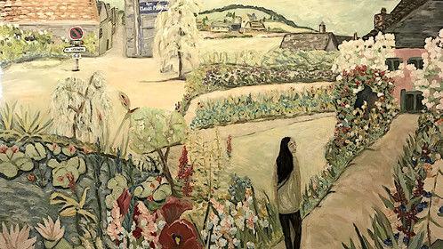 'Nita in Giverny' - deborah eve alastra '17