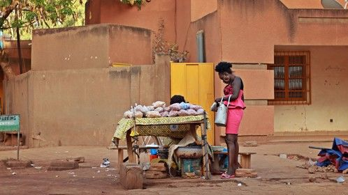 From my latest Filming in Burkina Faso.