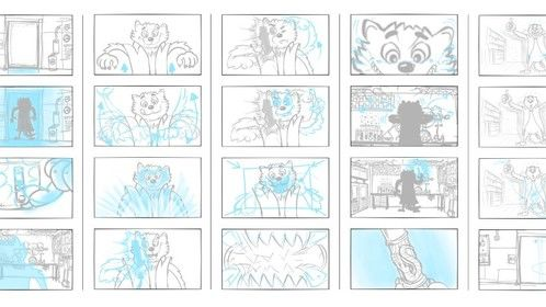 wolverine / storyboard wolverine / animation (no sound) https://vimeo.com/156308020
