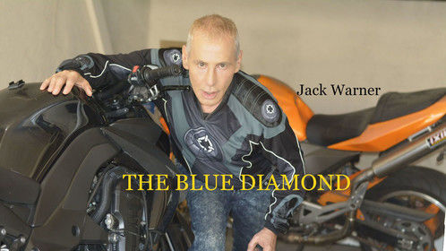 Jack Warner in a poster for The Blue Diamond movie.