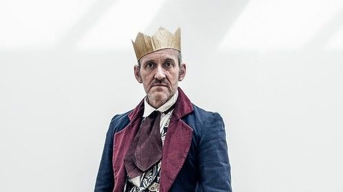 Sir Leicester Dedlock from The David Glass Ensemble's production of Bleak House.
