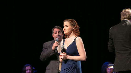"""Performing Stephen Sondheim's """"Getting Married Today"""" in Center Stage Opera's BEST OF BROADWAY Vol. III Concert."""