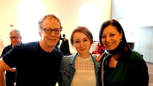 With Danny Elfman (Batman, Nightmare before christmas, Alice in wonderland) and Laura Engel in Vienna