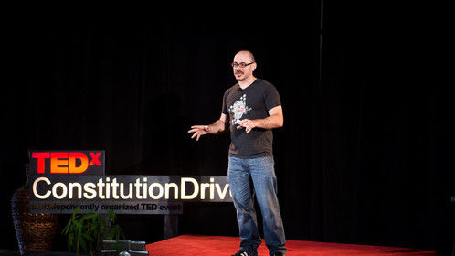 TEDx talk:   WORLD-BUILDING: EXPERIMENTS IN IMMERSIVE STORYTELLING