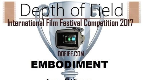 Fall 2017 winner of the Award of Exceptional Merit for my directorial debut short film, EMBODIMENT (2016) http://m.imdb.com/title/tt6244566/?ref_=m_nm_knf_i1