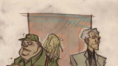 Star Wars High - Jabba the Janitor, Principal Palpatine and Vice Principal Tarkin