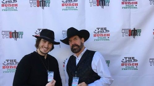 Actor/Director Adam Michael Gold at The Wild Bunch Film Festival (2017). His film Vermijo was appearing at the festival.