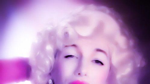 Marilyn Monroe Print Ad