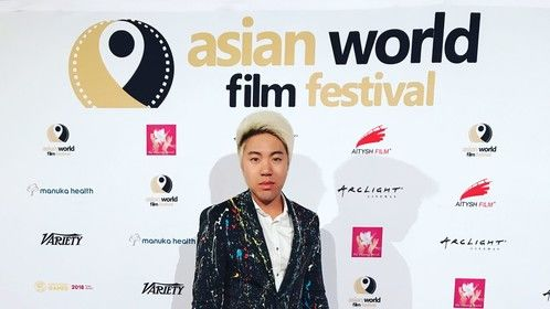 Walking the Red Carpet at the 2017 Asian World Film Festival #awff #awff17 #pixeryup #filmfestival #redcarpet