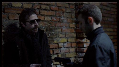 "Claudio Losavio and Giuseppe Cardaci in ""Ubuntu"". A film by William Bersani, Italy 2014. Cinematographer Philipp Soheili"