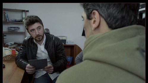 "Giovanni Sconamiglio and Gianfilippo Grasso ""Ubuntu"". A film by William Bersani, Italy 2014. Cinematographer Philipp Soheili"