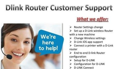dlink wifi router customer care number