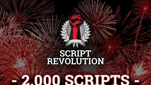 WE DID IT! 2,000 scripts now in the database, each one hosted for free! http://www.scriptrevolution.com  #screenwriting #filmmaking