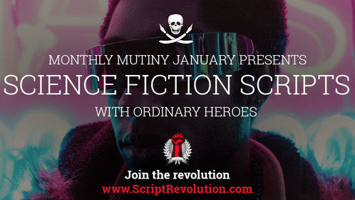 This month we're featuring all Sc-Fi screenplays with Ordinary Heroes - come get your nerd on by checking them out or uploading your own script for free: https://www.scriptrevolution.com/monthly-mutiny