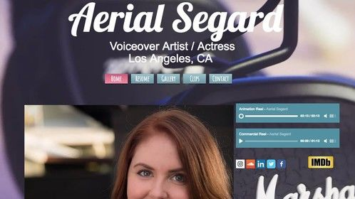 New website for the new year! Ready to kick things off! https://www.aerialsegard.com/