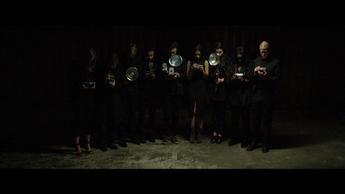 Capture from the music video, Euphoria Gloria, I wrote and directed