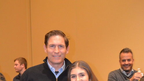 With Steve Young