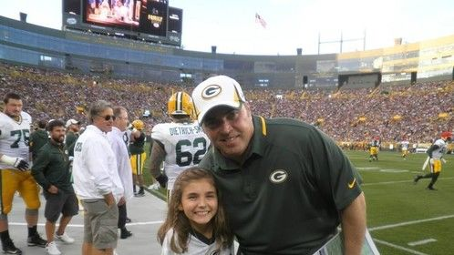 With Mike McCarthy