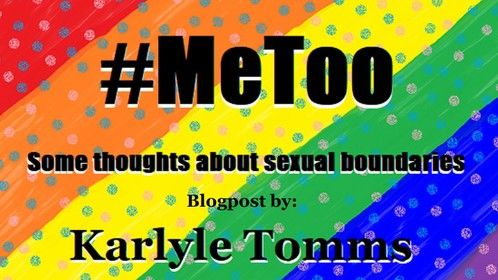 A blog post about the #MeToo movement. Discussion of my own experiences with sexual harassment.