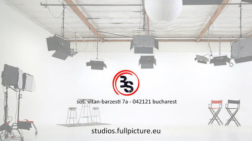 Soon opening the Bucharest Studios - 2400sqm of film production excellence! Stay tuned!