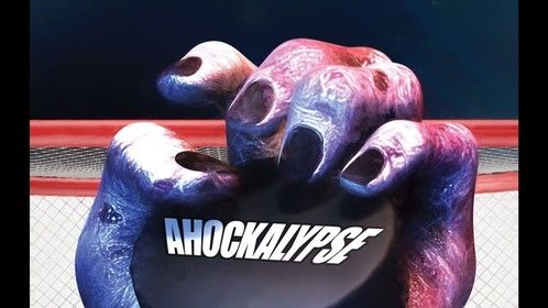 Poster for Ahockalypse.....watch out you Zombies!