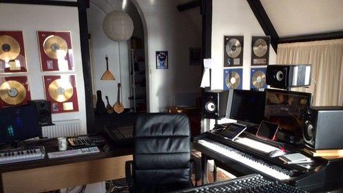 Studio in full flow