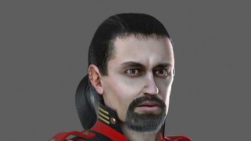 General Khuram Vark,  Suprem e Leader of the Second Legion, Eastern Quadrant
