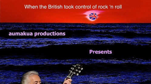 This is one of the posters, featuring Jimmy Page (then and now), for my Rockumentary, They Came To Play.