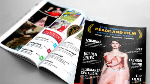 2018 International Peace and FIlm Festival - Magazine