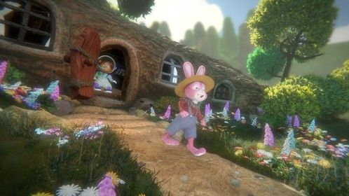 Image from our children's cartoon Sleepy Bunny