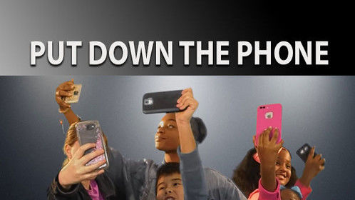 Put The Phone Down a Kids N Film production was recently selected by the Kids First Film Festival. Kids N Film teaches self-confidence and self-esteem building using on-camera techniques. The kids rotate positions in front of the camera, behind the camera and as directions, sound audio capture, and other activities. Jacalyn Evone, Supervising Director and founder of the Vallejo, CA program.