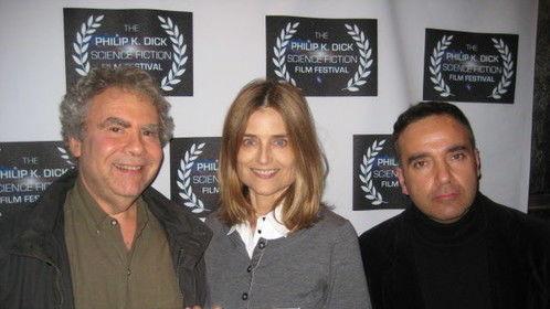Radio Free Albemuth - Best Feature Film Award - Philip K. Dick Festival with writer/director John Alan Simon, Producer Elizabeth Karr, Festival Director Dan Abella.