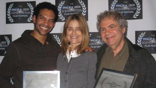 Radio Free Albemuth - Best Feature Film Award - Philip K. Dick Festival with Khary Payton (Astronaut Film),  Producer Elizabeth Karr, John Alan Simon - Radio Free Albemuth writer, director, producer.