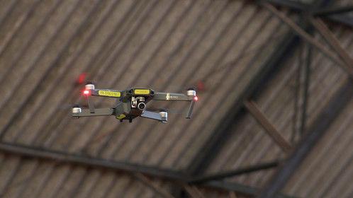 Shooting a promo video for an indoor tennis tournament in Sao Paulo, Brazil.  Drone: DJI Mavic