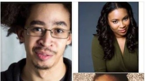 Rob Santos, Taneisha Duggan, and too-cute-for-words Paige Whittingham play the lead family in the digital series Beige on Both Sides.