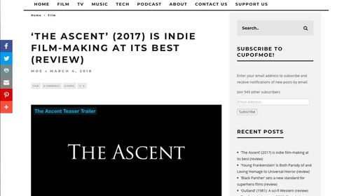 http://cupofmoe.com/film/the-ascent-2017-review