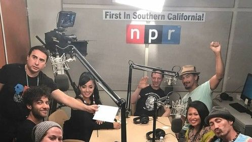 Host and Co-Producer of NPR KVCaRts Radio and PBS affiliate Television Show