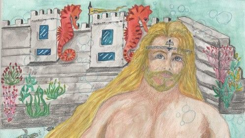 """Novel 3: Ocean Depth A Life - """"…they being legendary as is our King Poseidon's."""""""