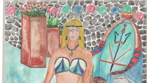 Novel 3: Ocean Depths A Life - Princess Rhode has just come from dismissing a merman…