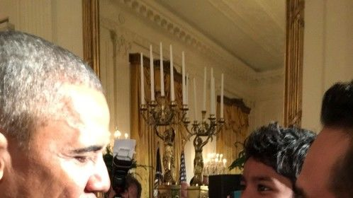 Extremely honored to have met President Obama along with Sunny Pawar at the White House on Jan 16th 2017. Three days before his term ended.