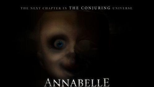 Arte publicitario para Annabelle Creation.