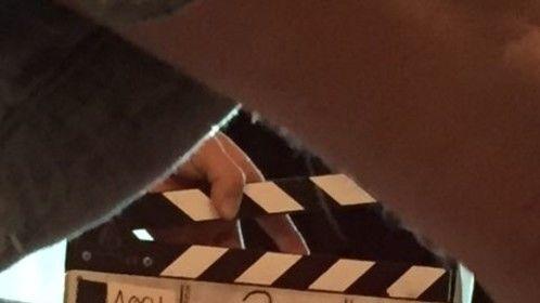 Yay. !st scenes shot on my dark comedy pilot, MENTAL.