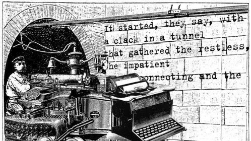 The Typewriter Underground, Text Marc Zegans, Image, Eric Edelman