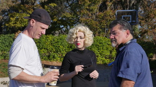 The Marilyn Death Dimension - our mini-series idea, looking for partners