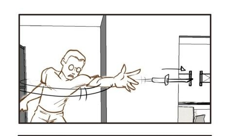 """Storyboard Panels for """"Muna"""" feature"""